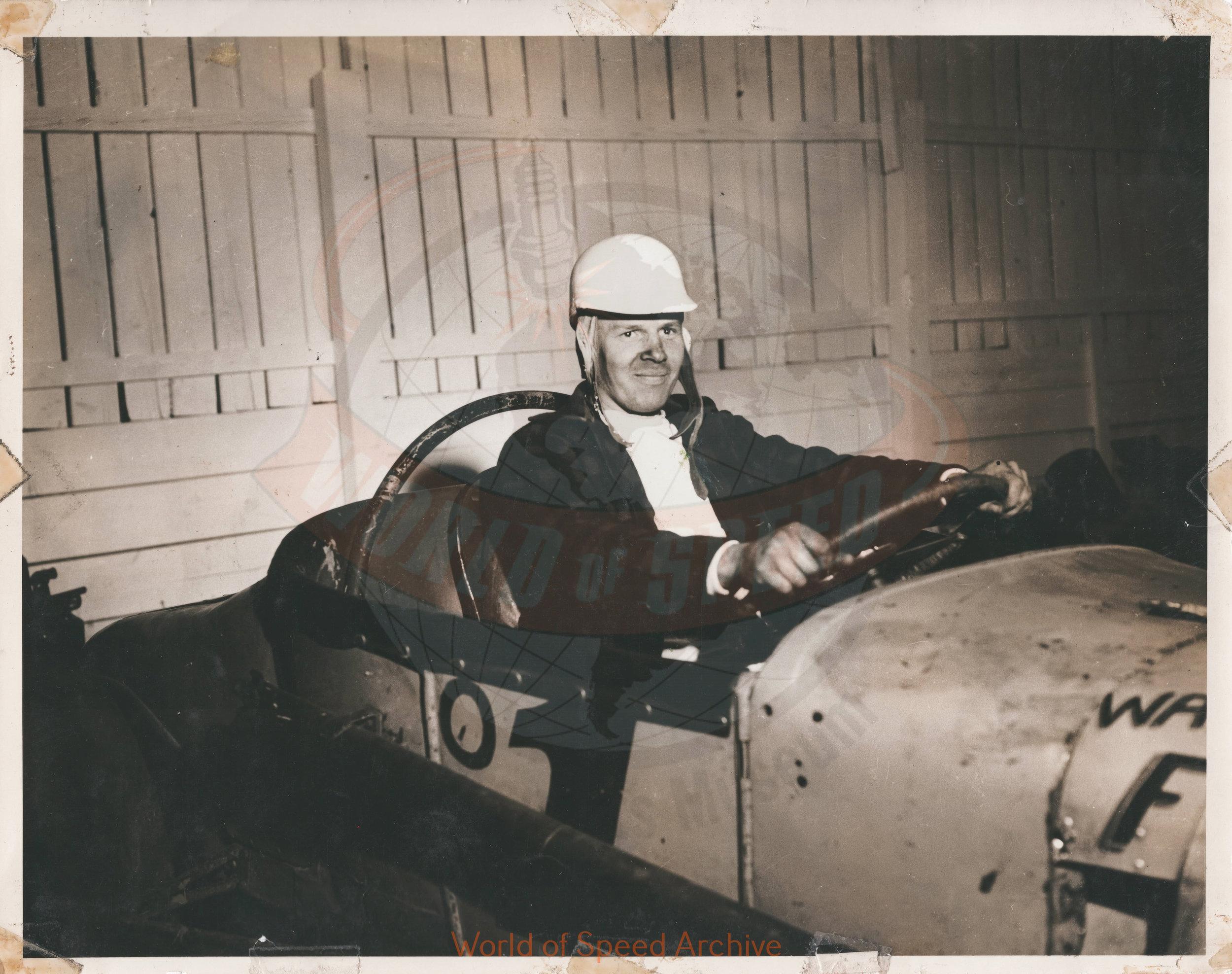 JG.08.A - Ernie Koch, 1950 Salem Hollywood Bowl Champion