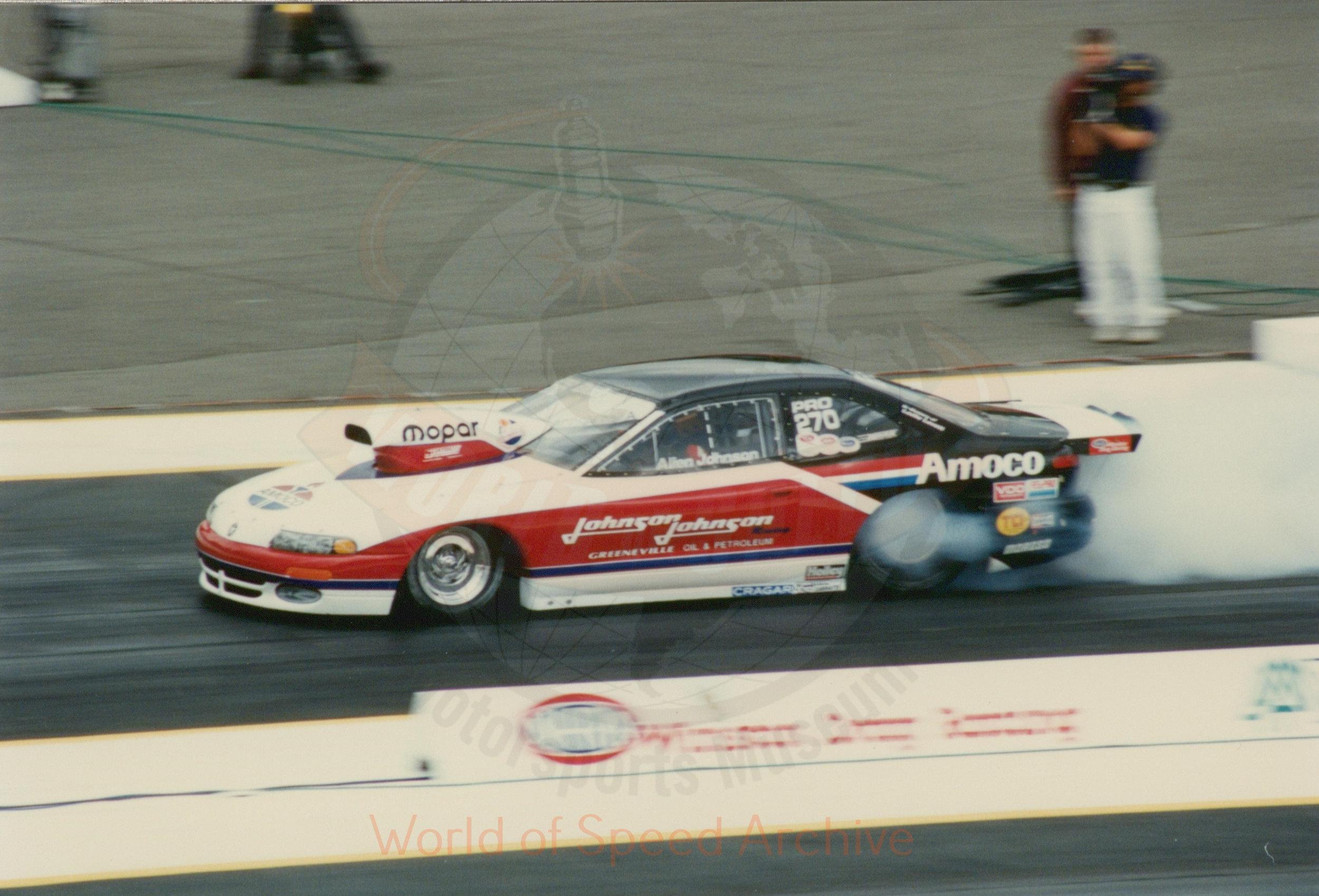 B4-S3-G1-F18-004 - Allen Johnson, Johnson & Johnson Racing, Mopar Amoco
