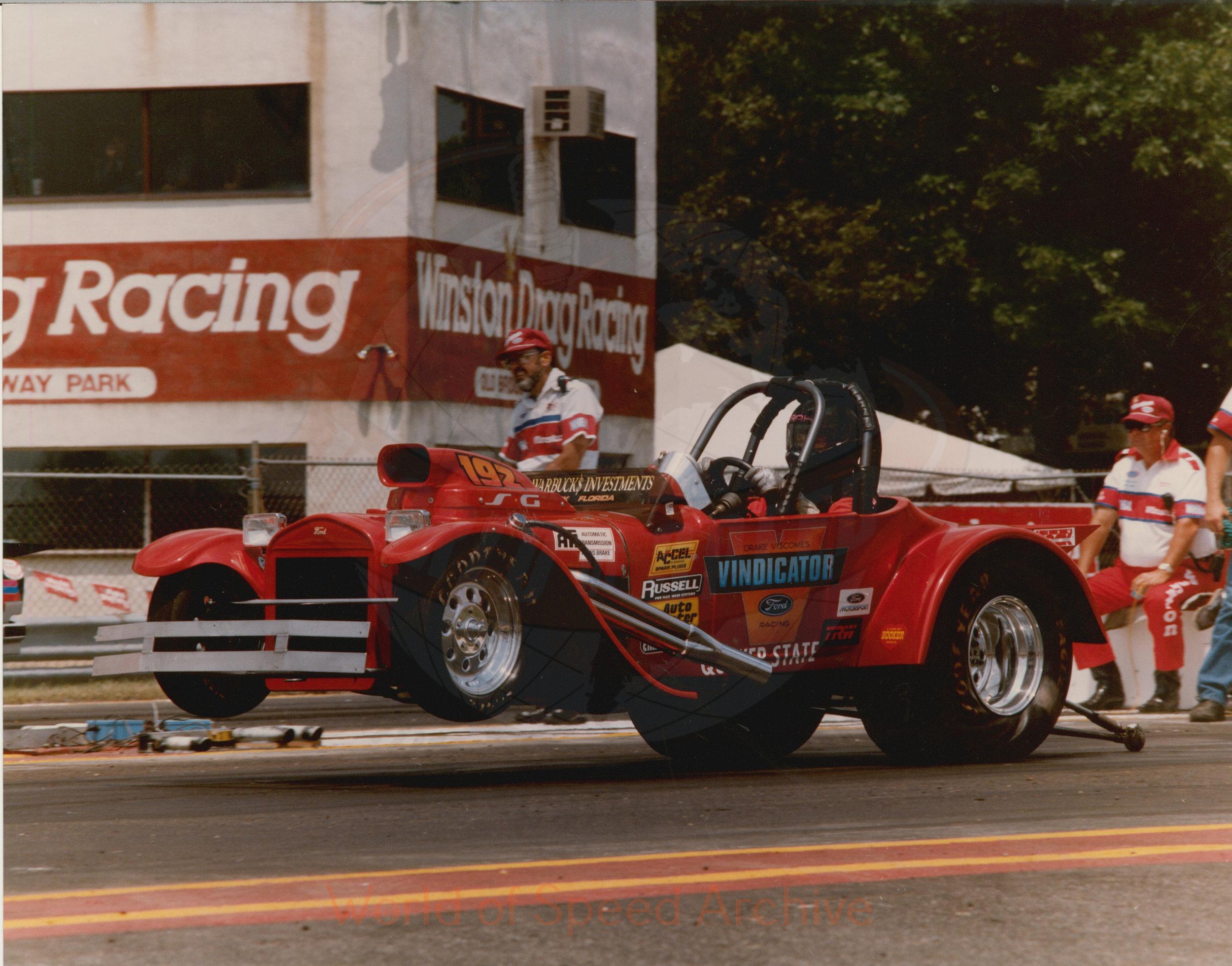 B8-S3-G1-F36-003 - Winston Drag Racing, Vindicator