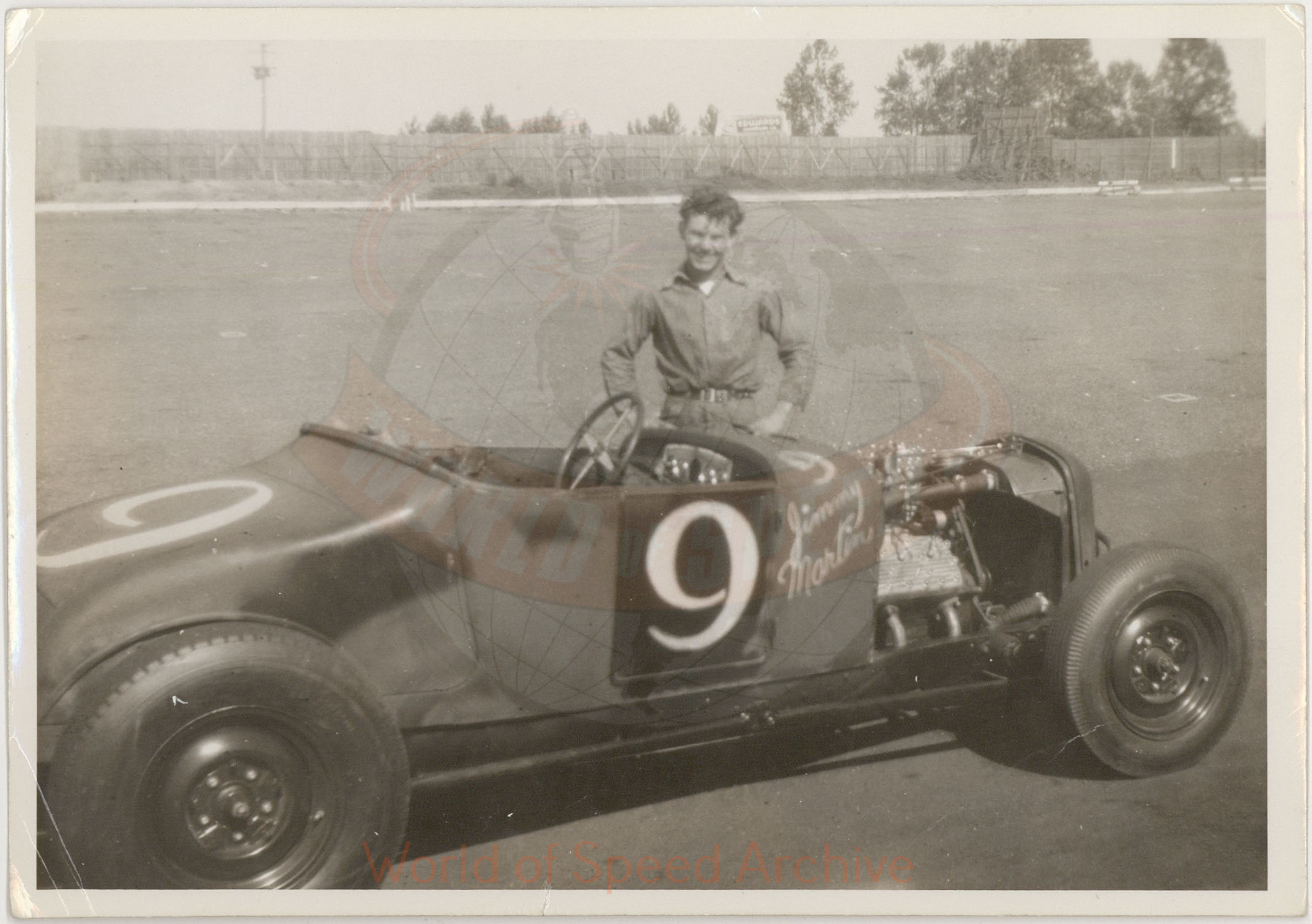 WOS#3786 - GM03 p043: Jimmy Martin #9 Model T Roadster