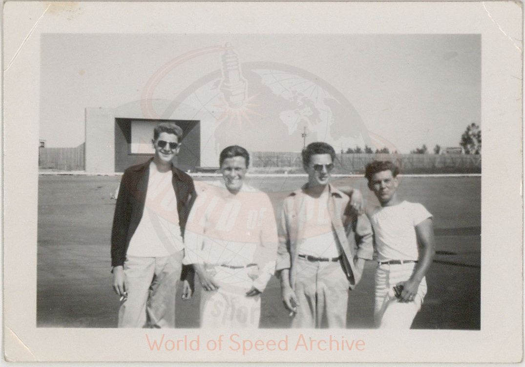 WOS#3786 - GM05 p078: Portland Speedway drive-in movie screen in background