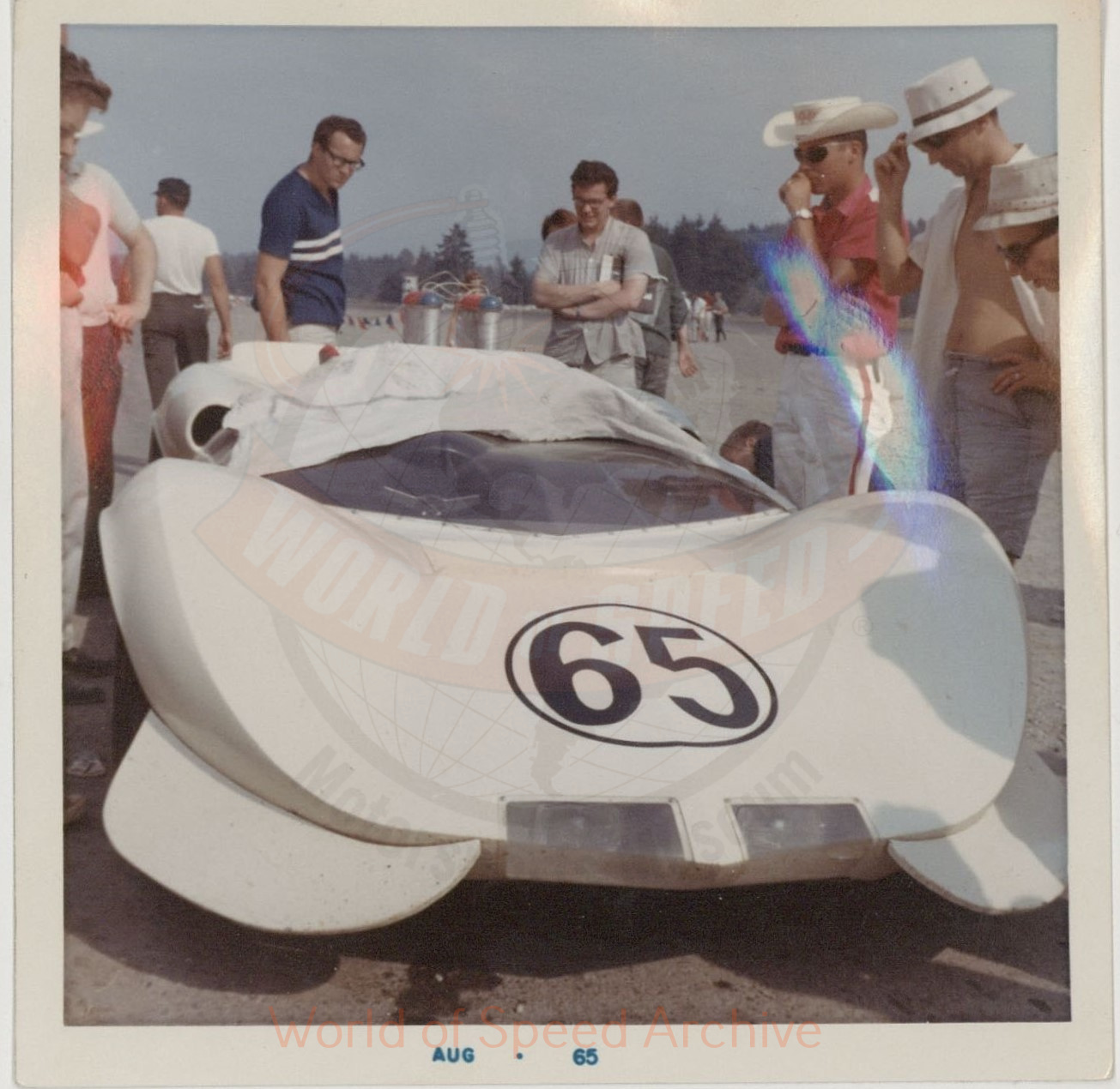 WOS#3786 - GM10 p142: 1965 Can Am race, Seattle International Raceway