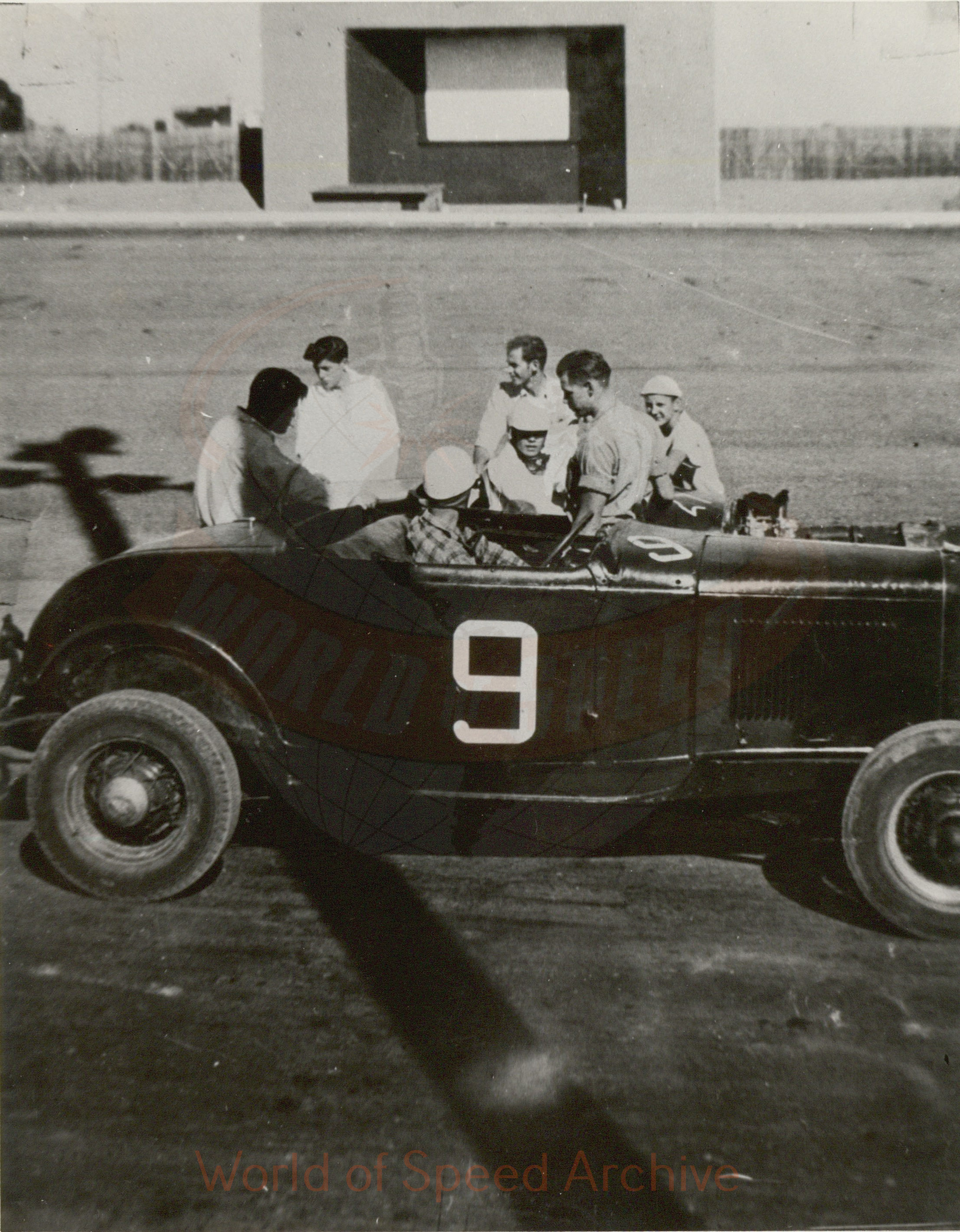WOS#3786 - GM02 p019: Jimmy Martin and friends at Portland Speedway