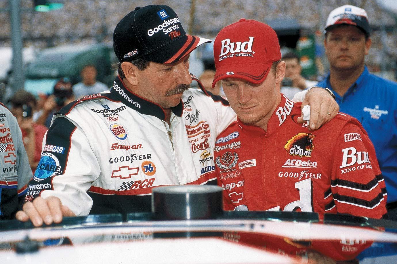Dale Earnhardt Sr and Jr., via ecelebrityfacts.com