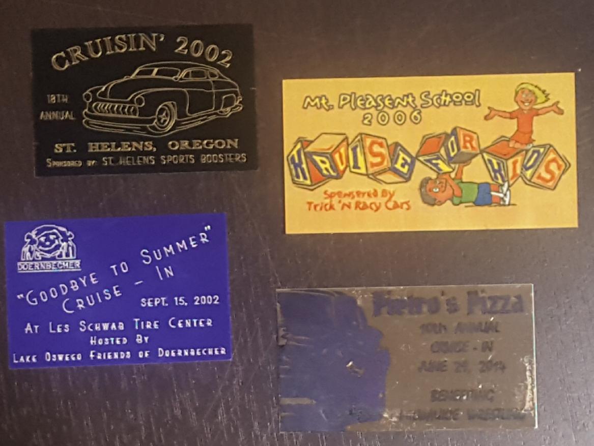 Dietz Dash Plate Collection, Pacific Northwest, 1997-2015; WOS#4162