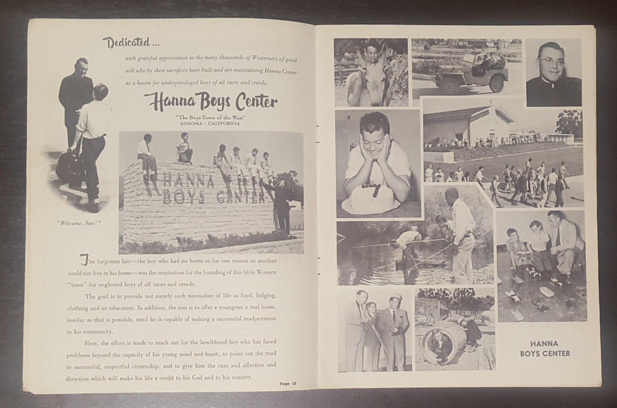 Program pages, Cotati Sports Car Races, 1957; WOS#4315
