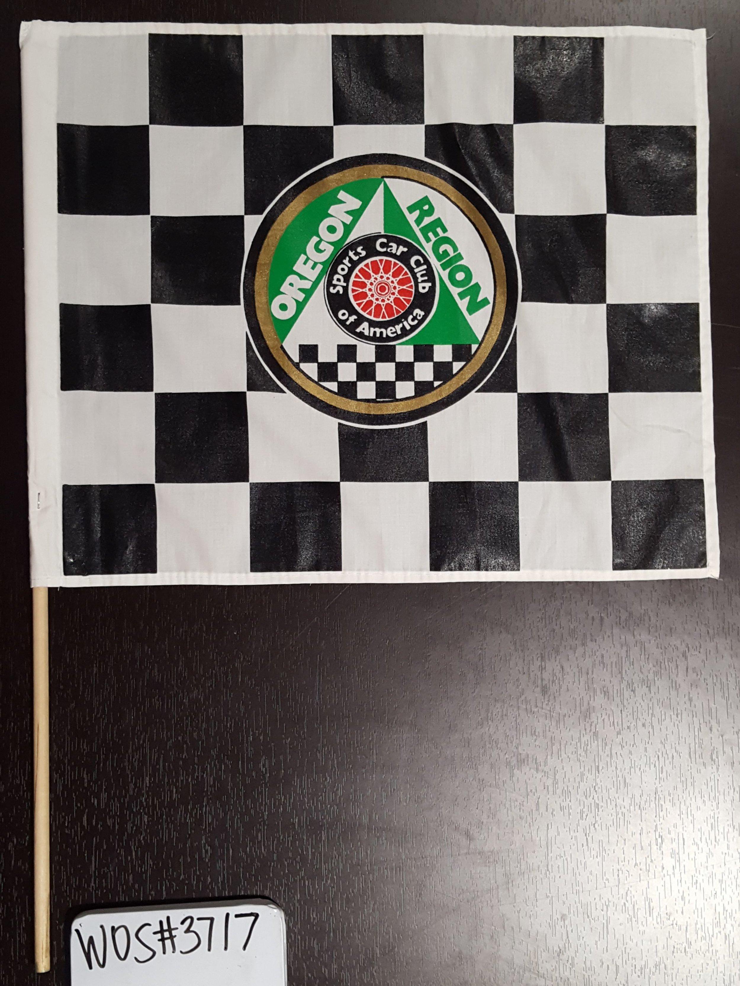 Oregon Region Sports Car Club of America Flag Collection; WOS#3717.E