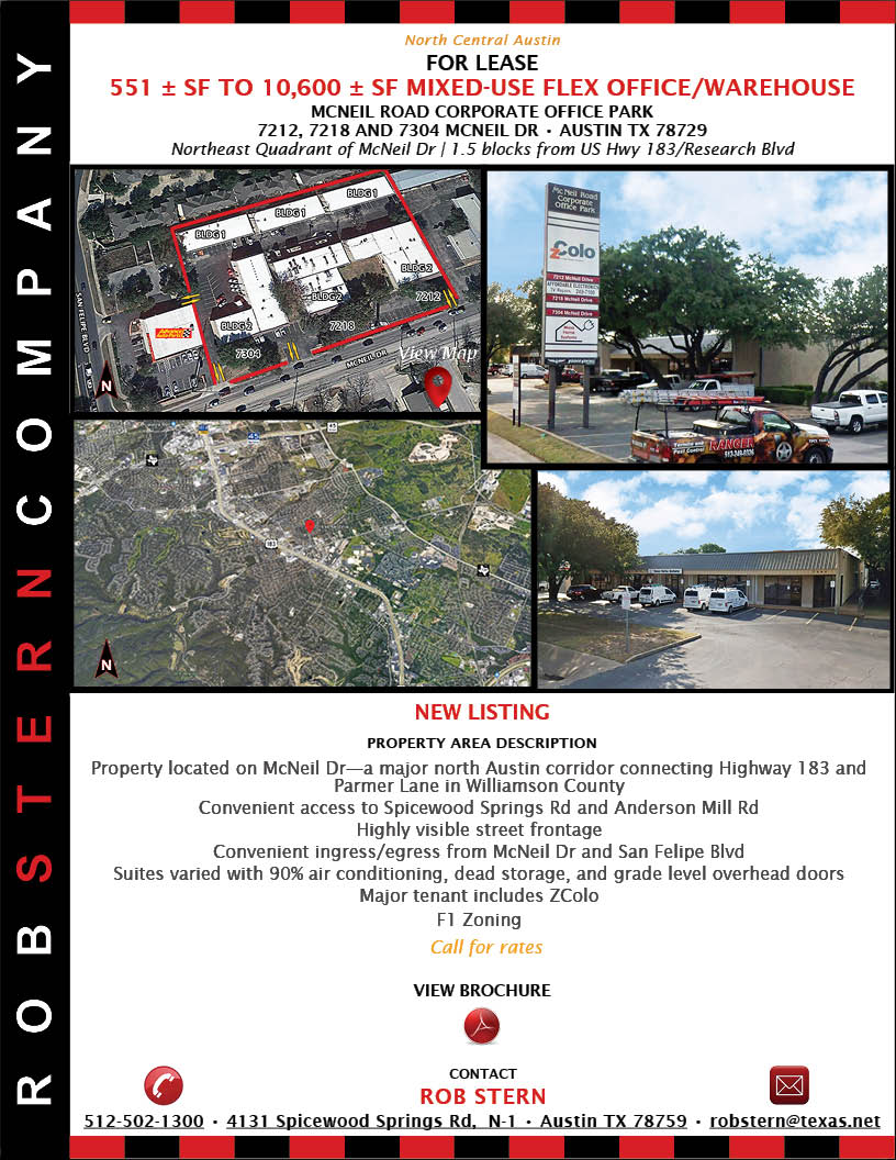 View Brochure for McNeil Rd Corporate Office Park