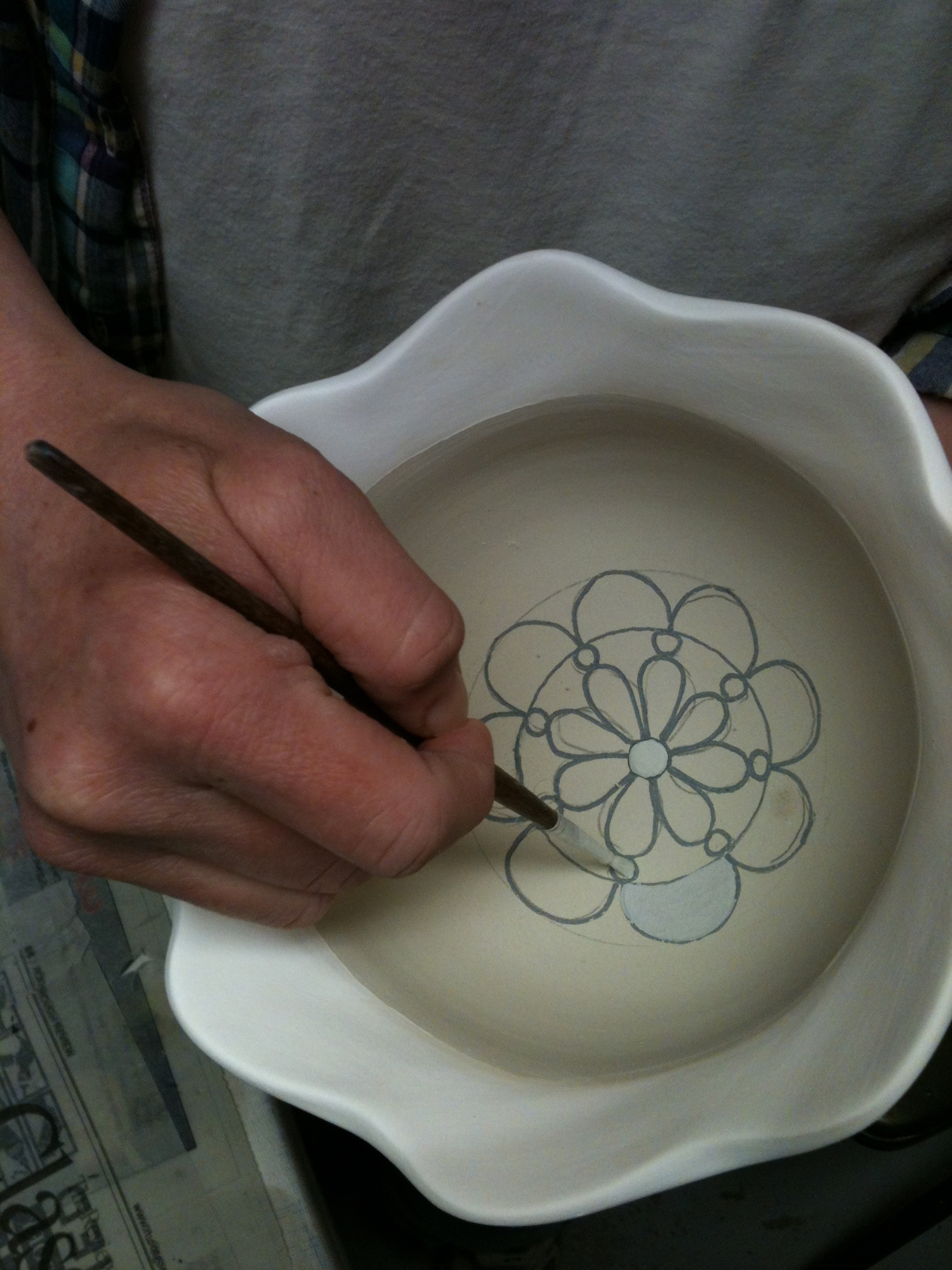 Layer additional glazes
