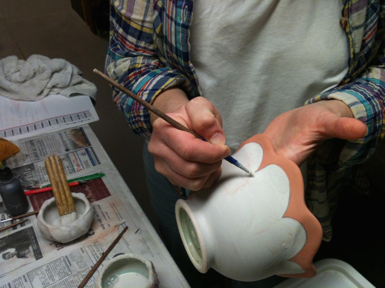 Layering additional glazes