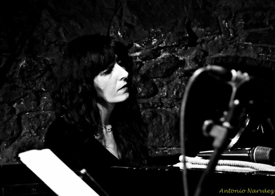 Eva Novoa at Jamboree in Barcelona   Fresh Sound New Talent Night photo by Antonio Narváez