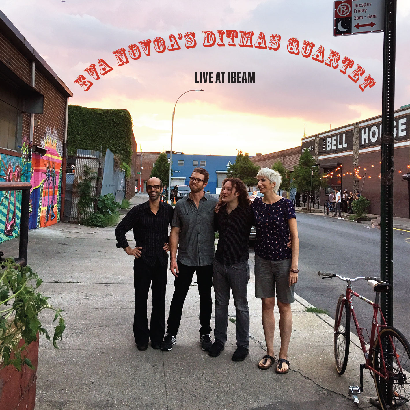 So excited my next 4th album as a leader and Ditmas Quartet's 2nd album as a band is coming out shortly next month on Fresh Sound New Talent! July 15th.   Live At iBeam  by Ditmas Quartet:  Michaël Attias, alto & baritone saxophones  Eva Novoa, piano, compositions & Chinese gongs  Max Johnson, bass  Jeff Davis, drums  Recorded live at iBeam in Brooklyn by Jeremy Loucas  Mixed and mastered at Sear Sound in New York by Jeremy Loucas   BUY HERE!!
