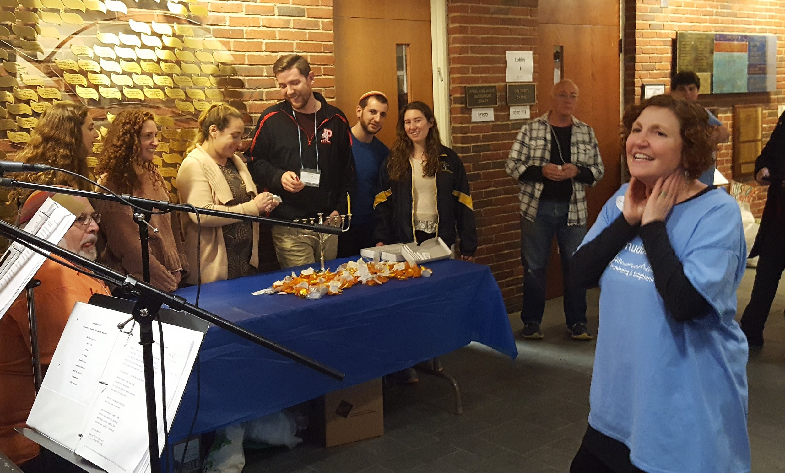 LimmudBoston ended on the first night of Hanukah this year.