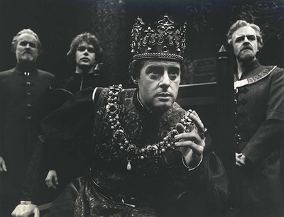 Henry V  at the Stratford Festival, starring Richard Monette. (Photo from The Cleveland Press Collection )