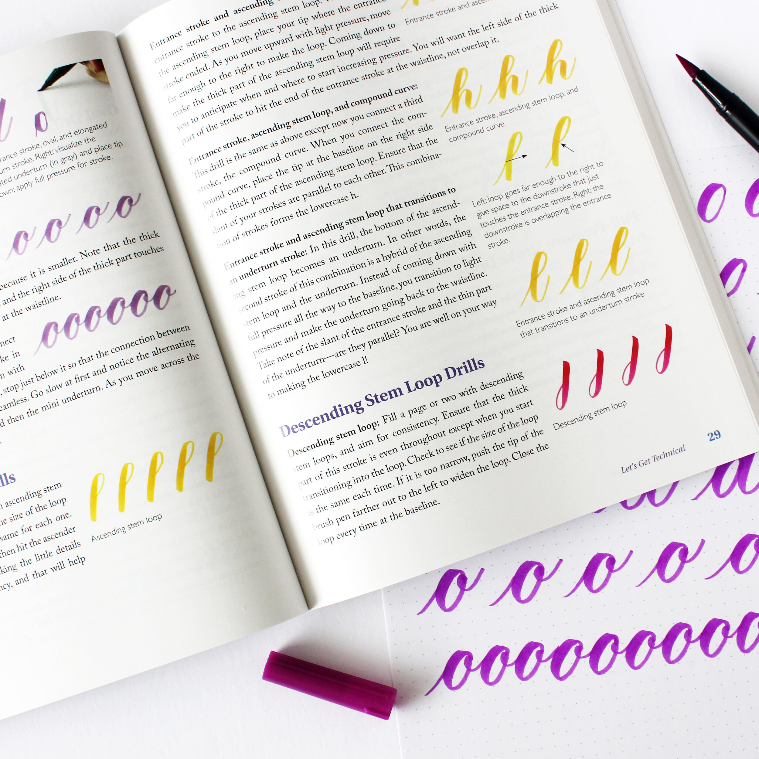 Brush Pen Lettering by Grace Song