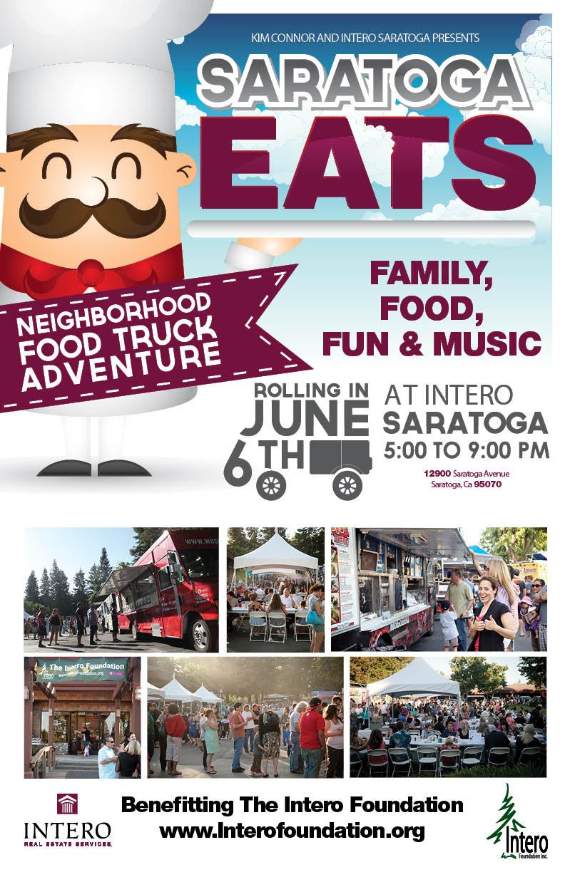 SARATOGA EATS POSTER SAVE DATE JUN 14