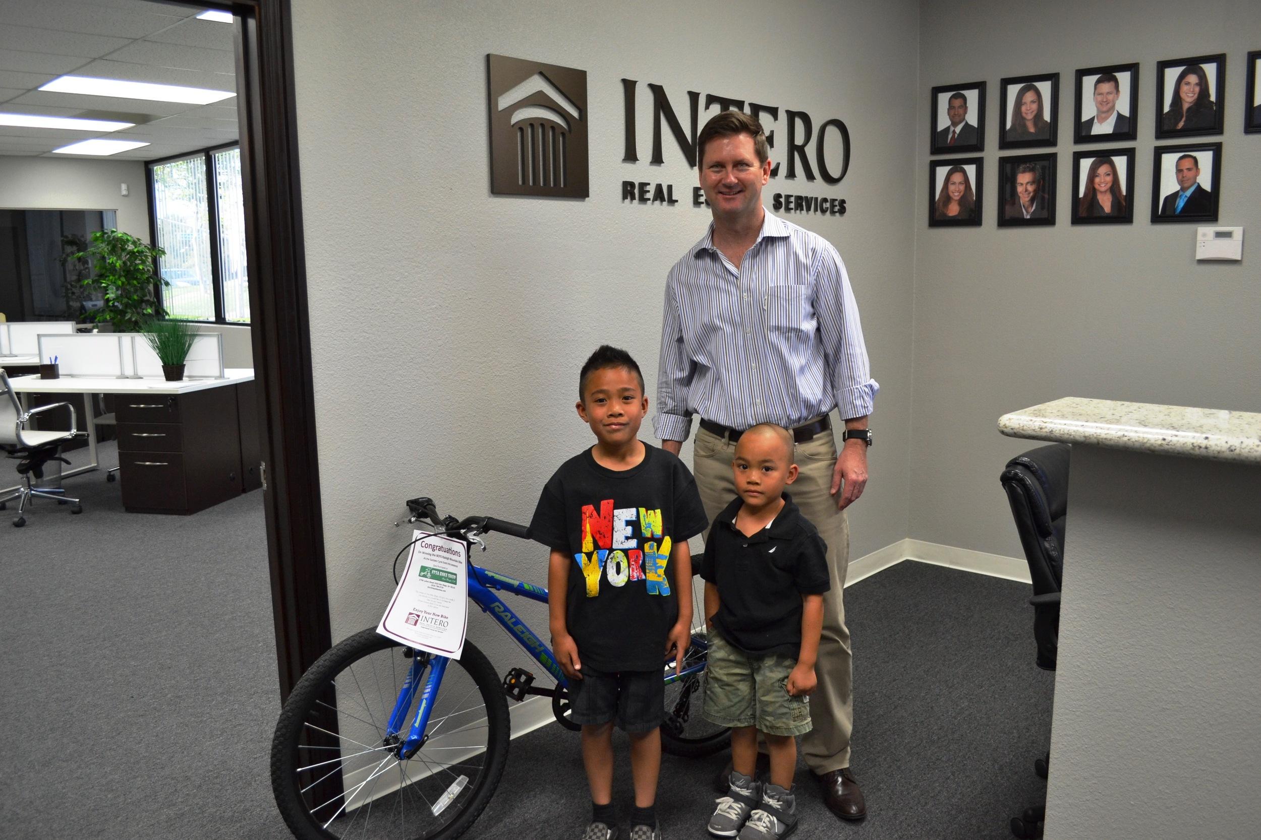 Boy Bike Winner