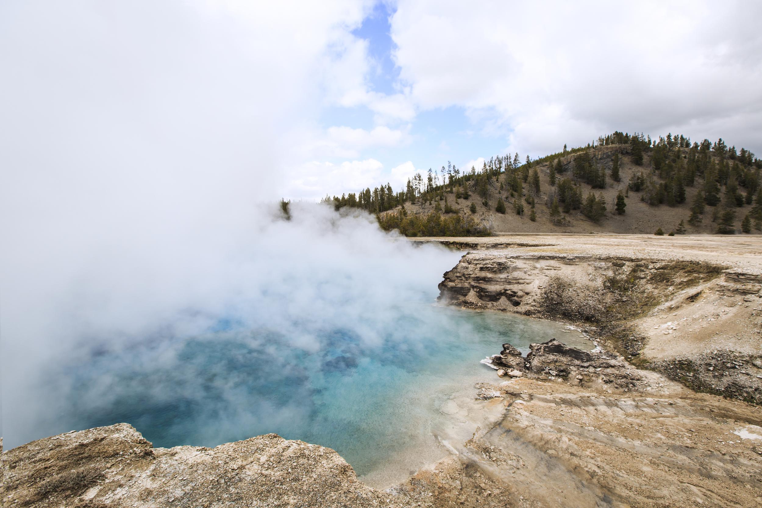 Hot Springs: Landrover