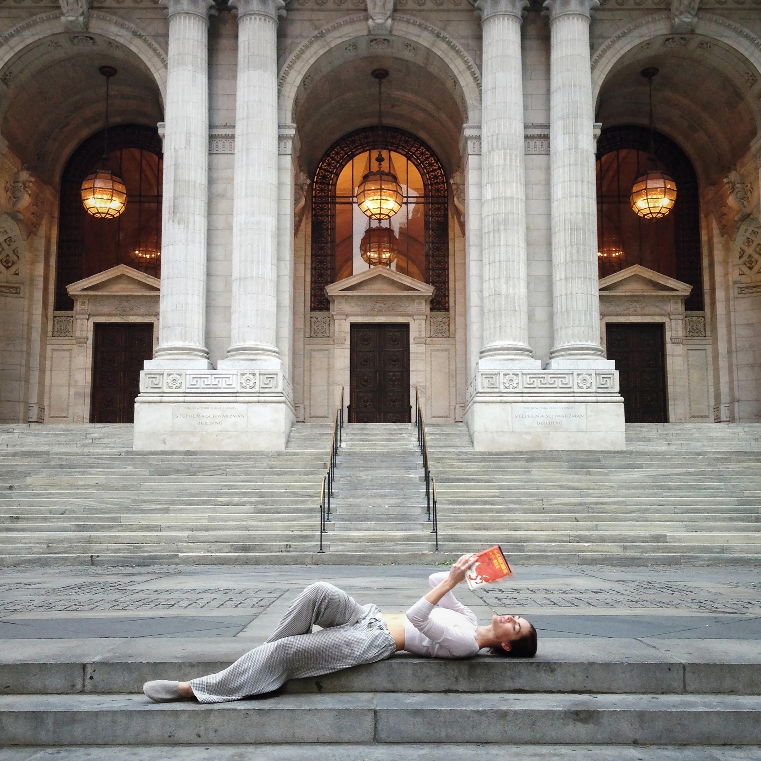 Hilary Rhoda for Vogue