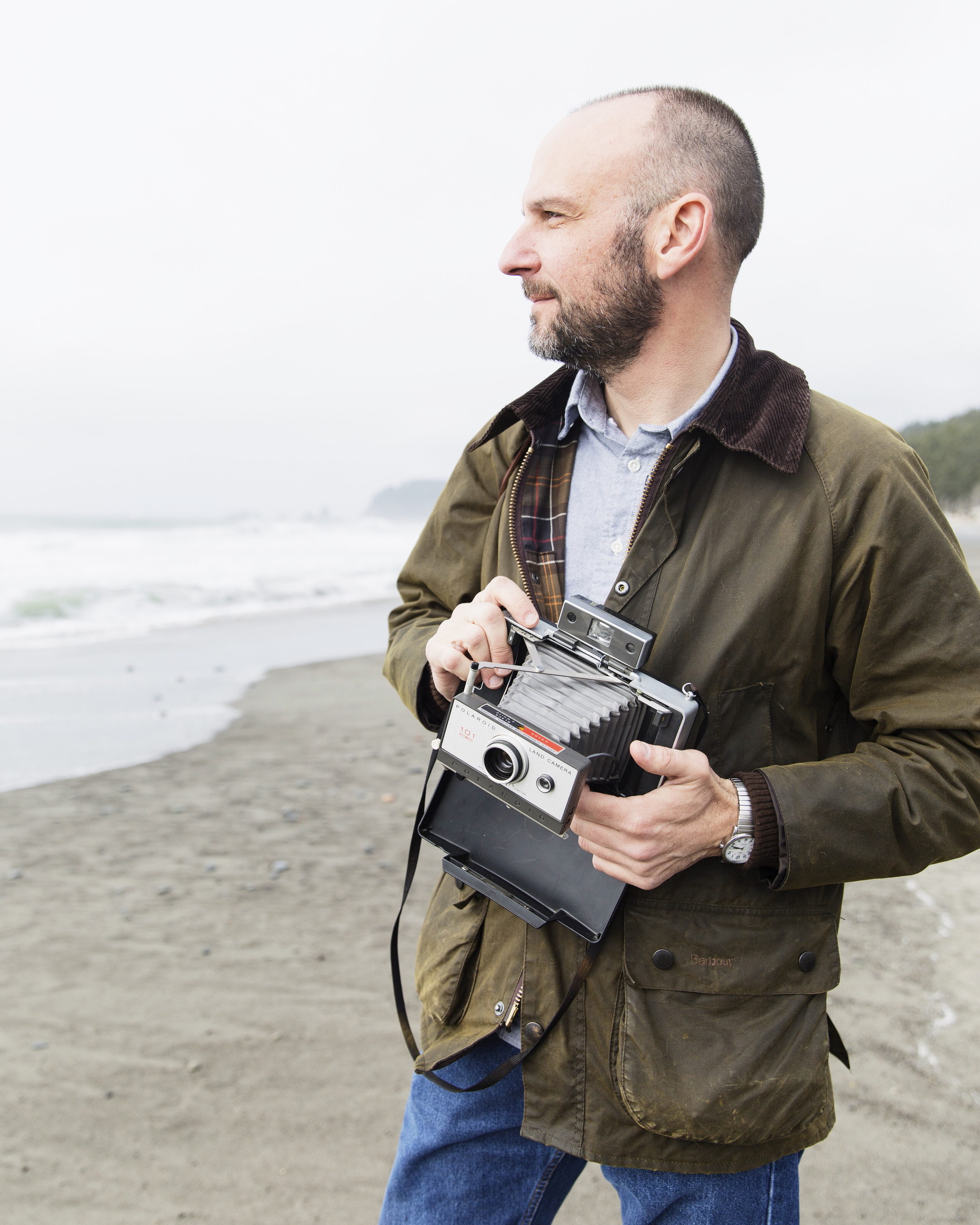 Tony Cross at Rialto Beach