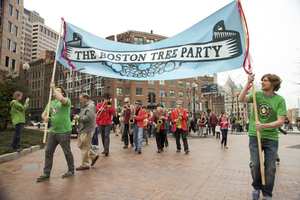 photo:  The Boston Tree Party