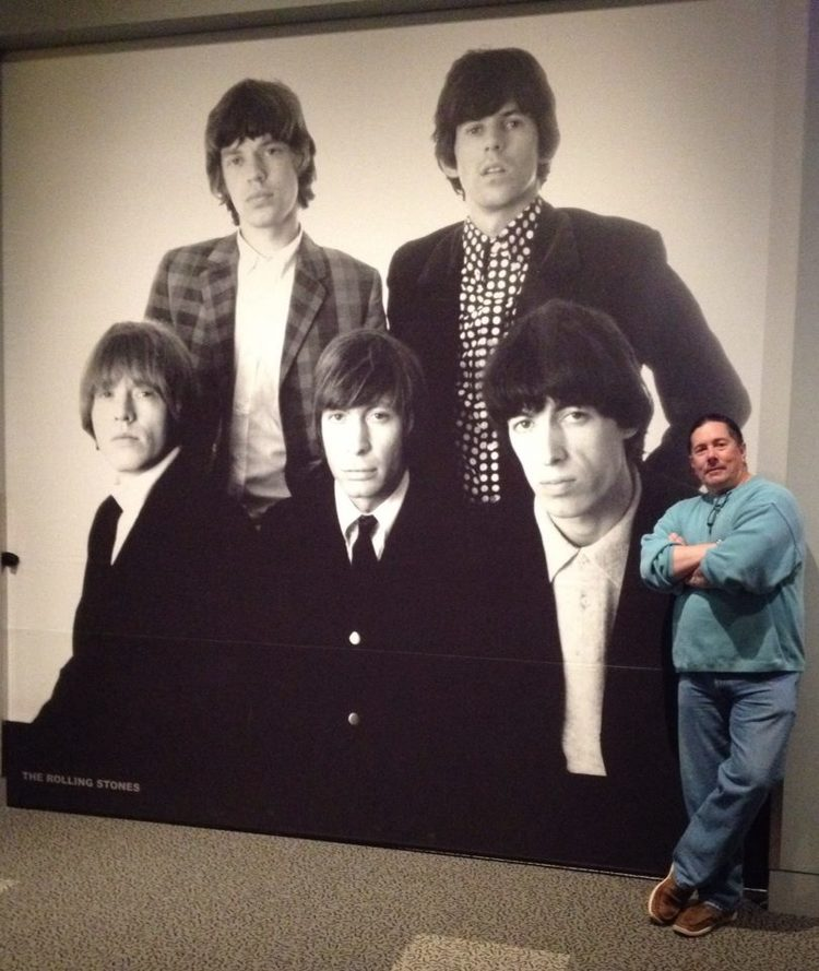 Hanging out with the young Rolling Stones, Rock and Roll Hall of Fame | 2013