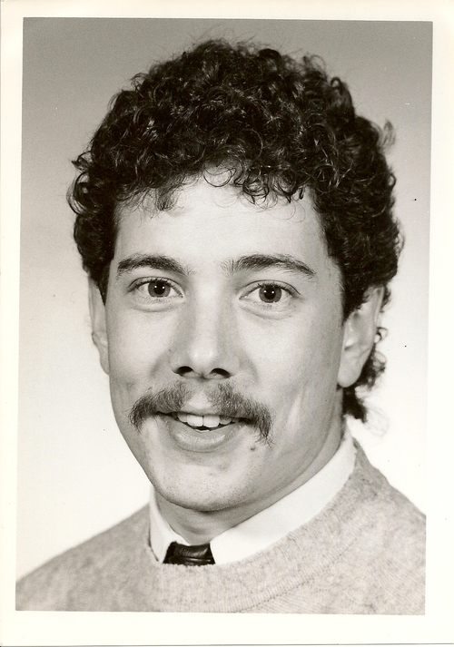 A young broadcasting hopeful in 1980 something