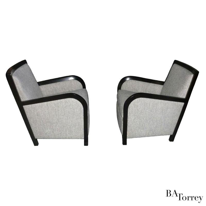 Slim Smoking Chair - B.A. Torrey