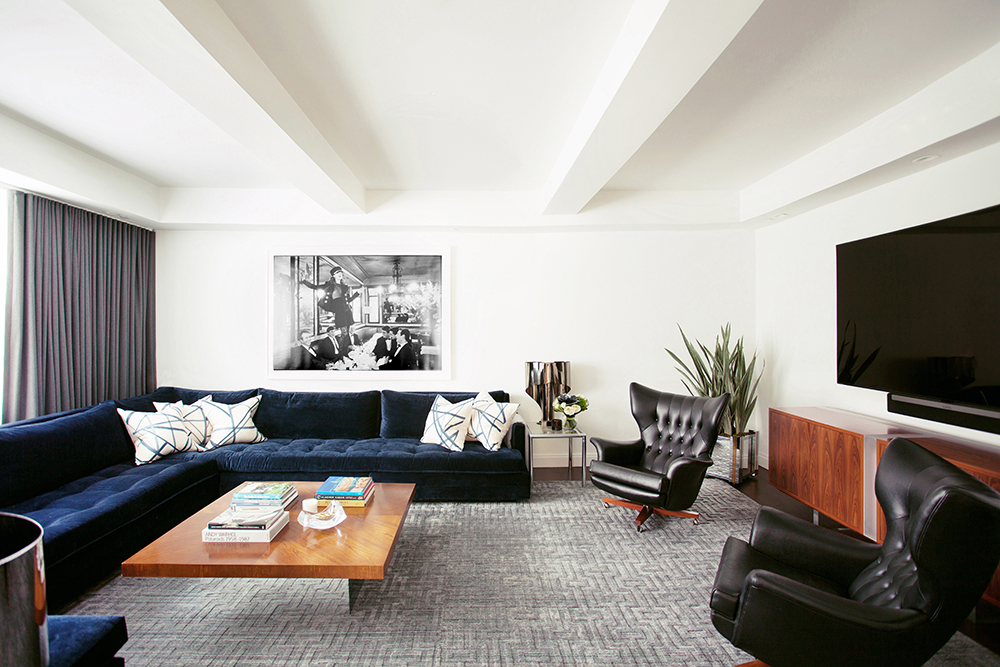 Greenwich Village Duplex, New York City - Design by B.A. Torrey