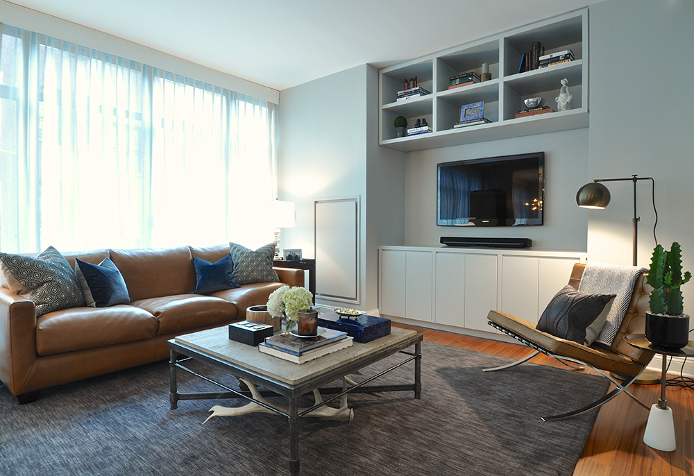 Tribeca Apartment, New York City - Design by B.A. Torrey