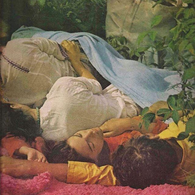 *short week vibes* Woodstock, Vogue 1969