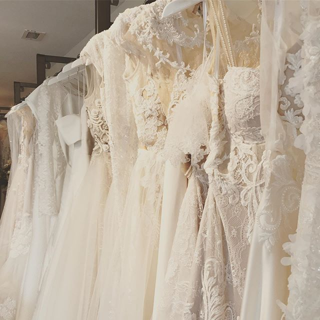 Summer Sample Sale ❤️ including bridal gowns, veils, jewelry & more up to 75% off 🎉🍾👰🏻 walkins welcome #sayyestothedress #samplesale #mnbride #wayzatamn #bride #berta #inbaldror #moniquelhuillier #badgleymischka #lelarose #peterlangnerbride #verawangbridal