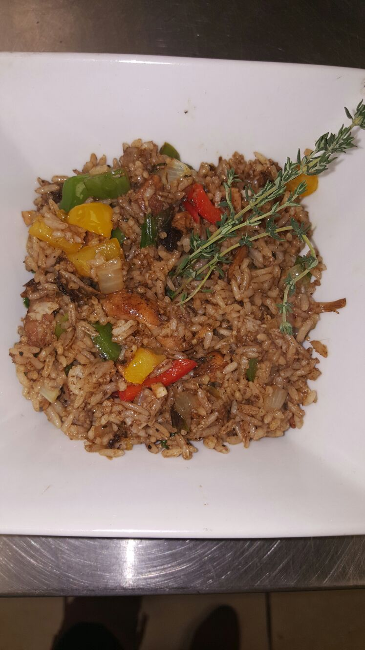 Chicken fry rice
