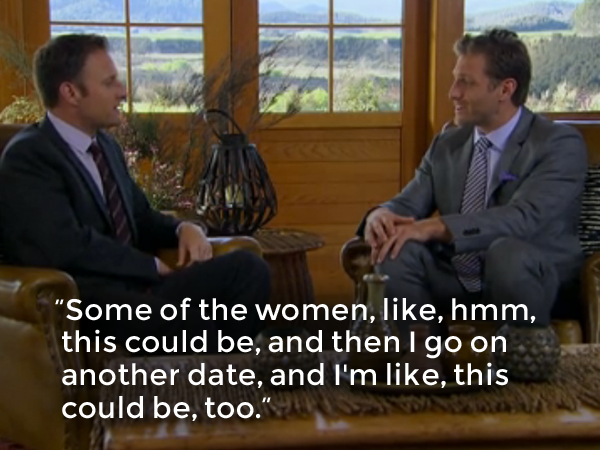 Yes, Juan Pablo, that is the PREMISE OF THE SHOW. You have to pick one.