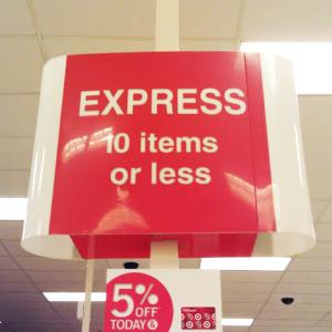 I still love you, Target.