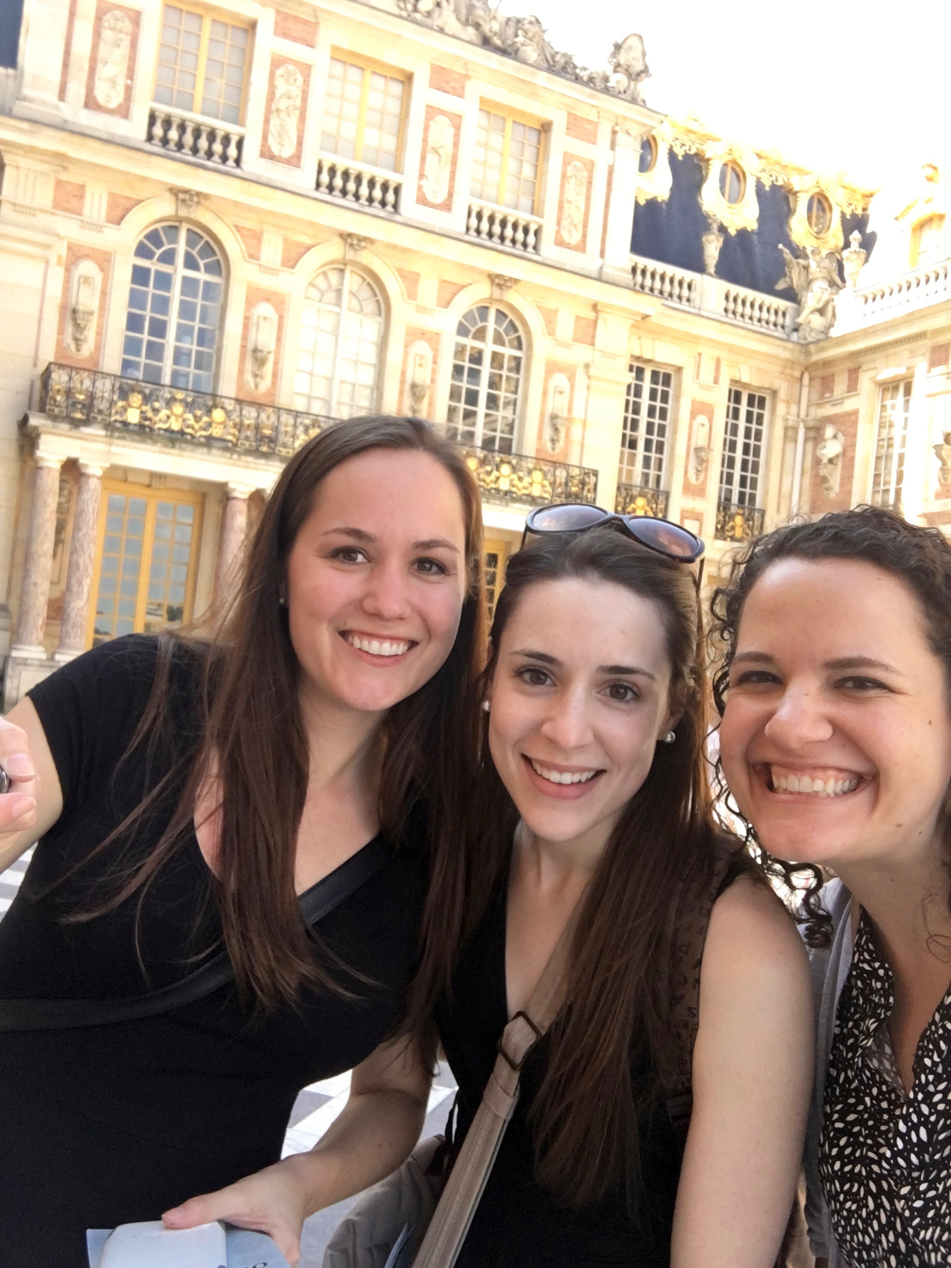 Selfie at the chateau