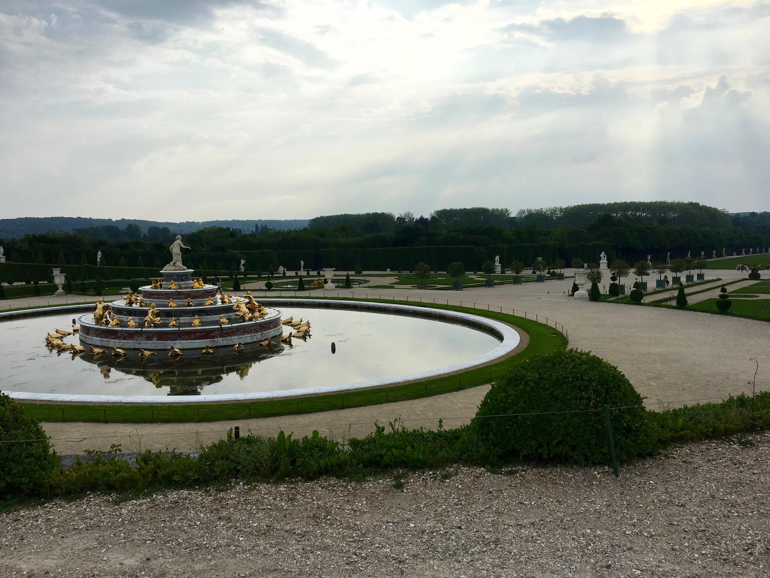 Lotta fountains at Versailles