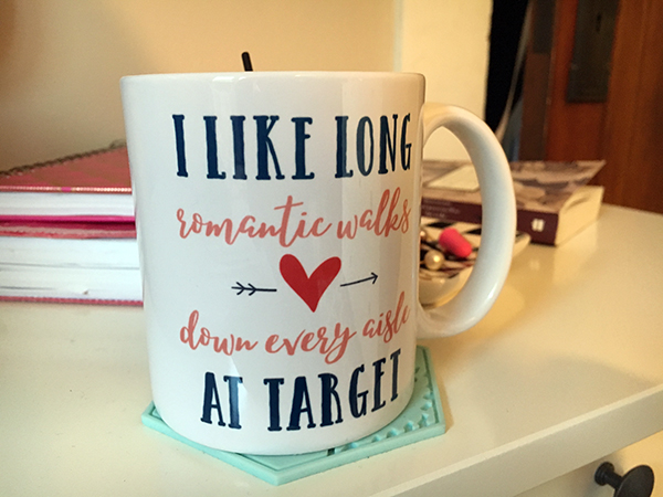 The mug I'm sippin' on as I handwrite another blog post #cubitaltunnel -