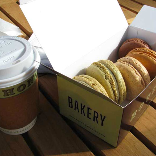 Macaroons from Bouchon Bakery in Yountville