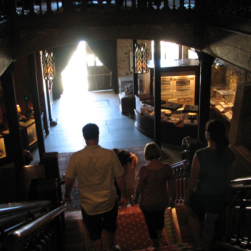 Lots to see and do at Inglenook Winery, Napa