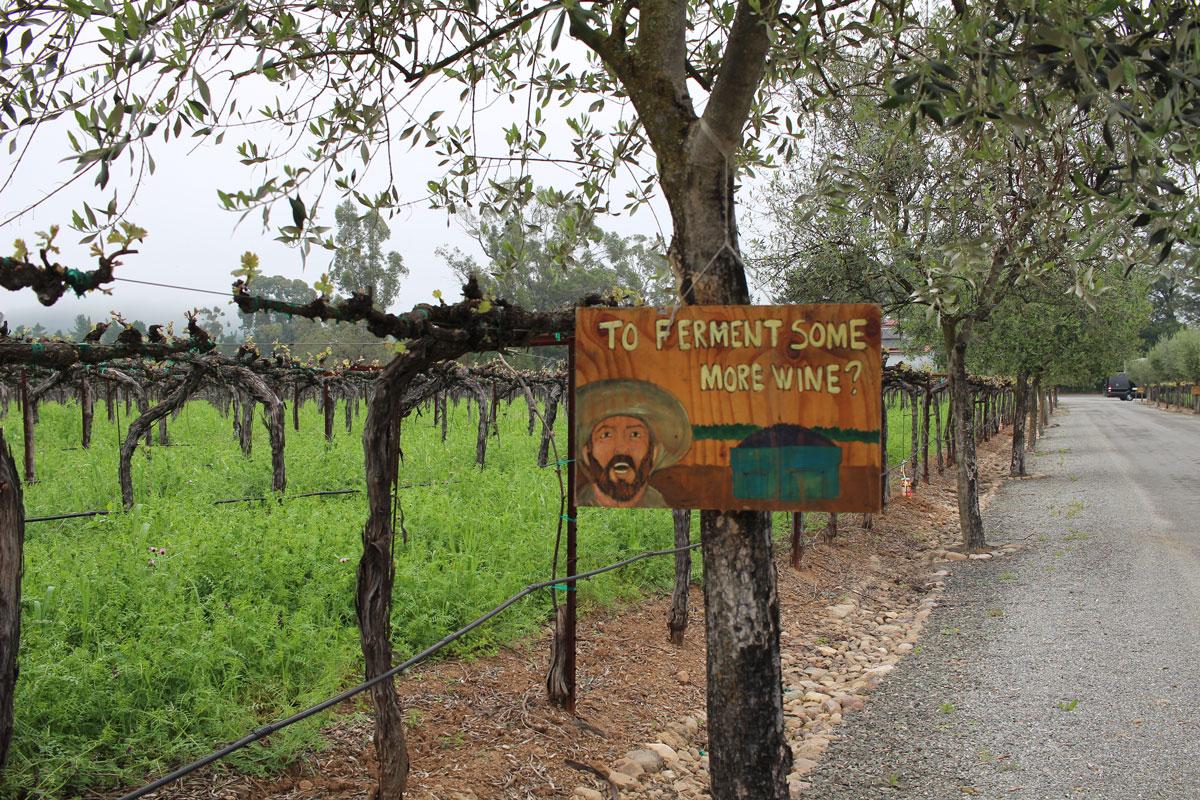 Hagafen Winery Napa Silverado Trail