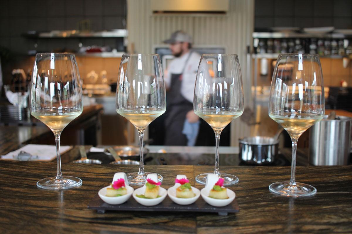 B Cellars Wine and Food Pairing Napa