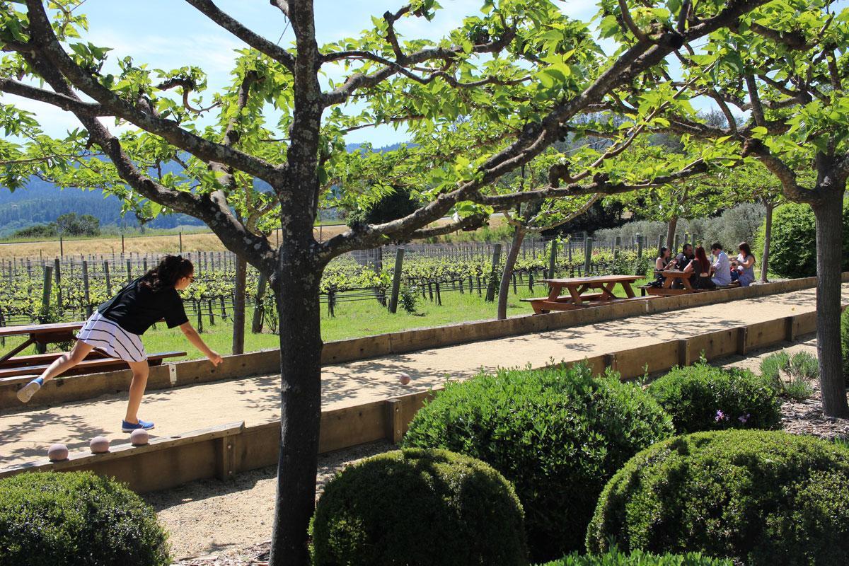 Bocce Ball at Dutch Henry Winery Napa