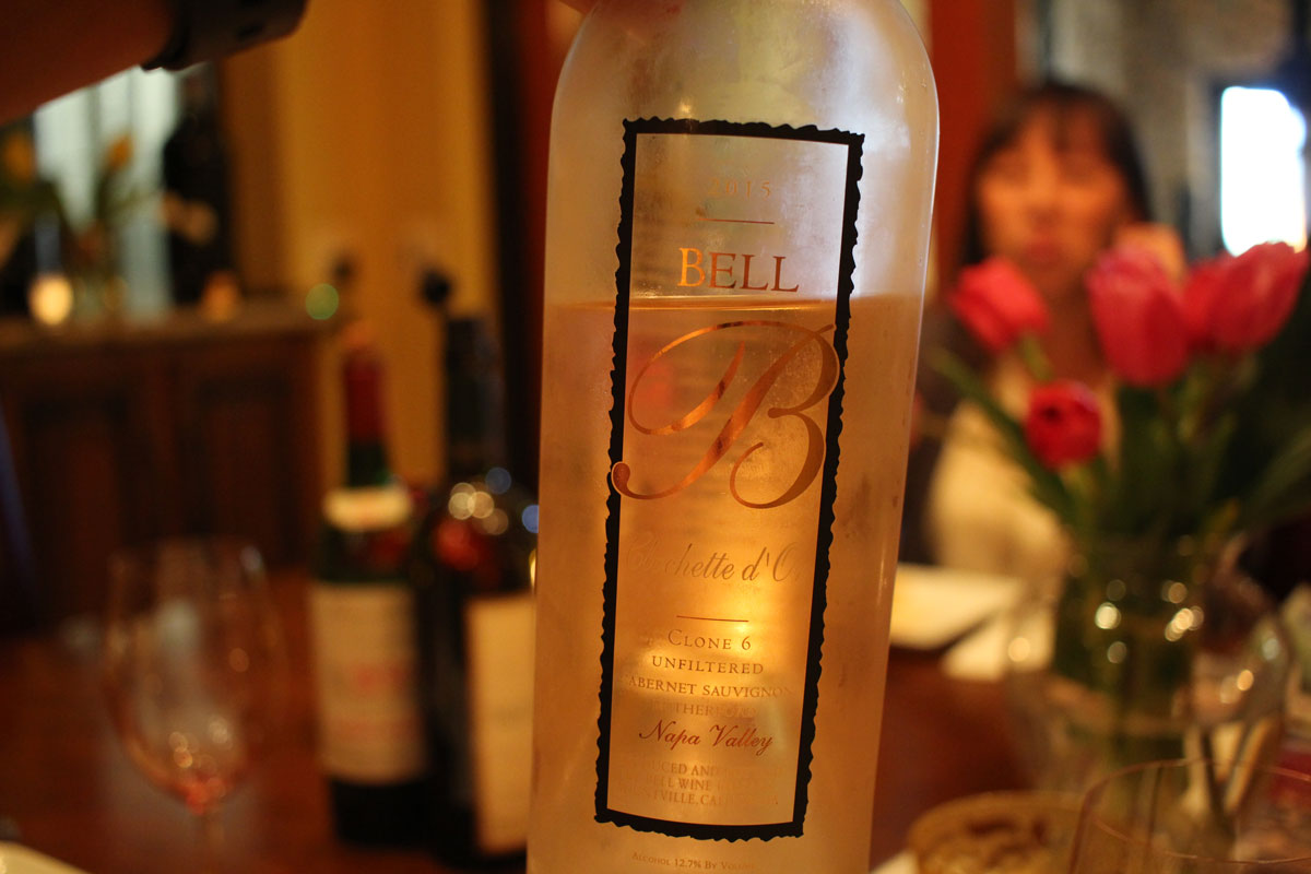 Intimate tasting experience at Bell Wine Cellars in Napa