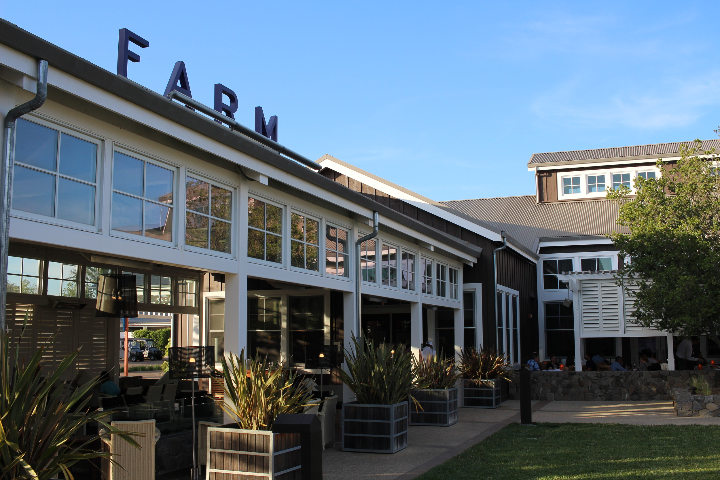 Farm Restaurant inside the luxurious Carneros Inn