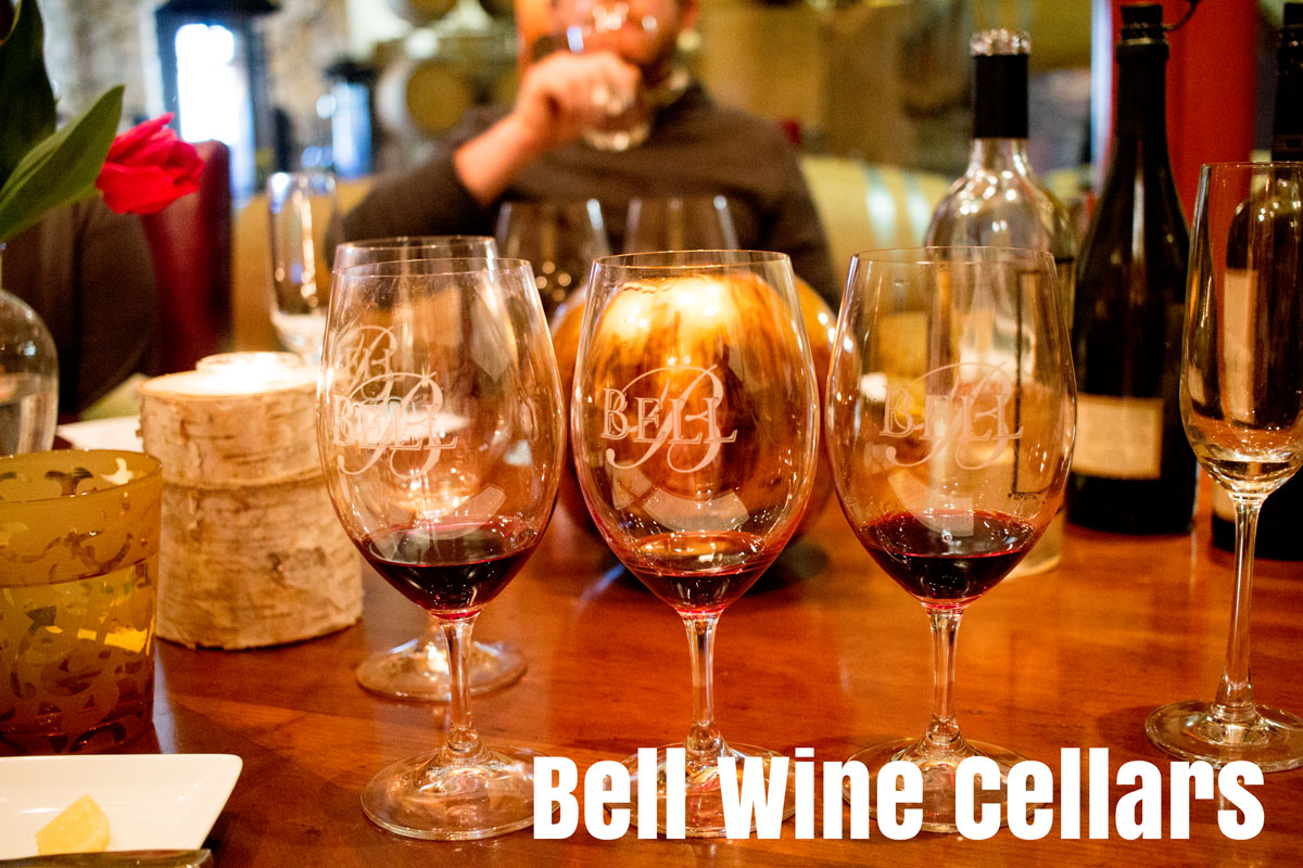 Bell Winery has a great Grape to Glass Tour