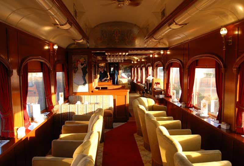 Beautifully restored Napa Wine Train