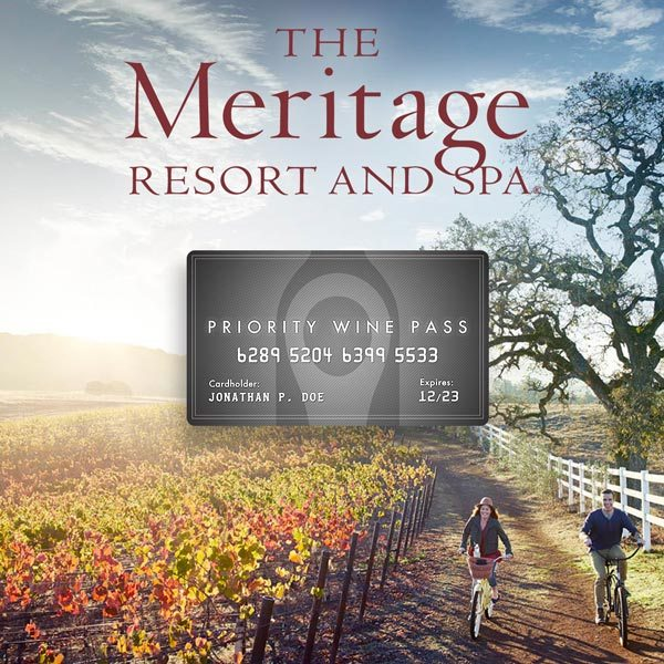 Meritage Resort Napa Special Offer Coupon Code