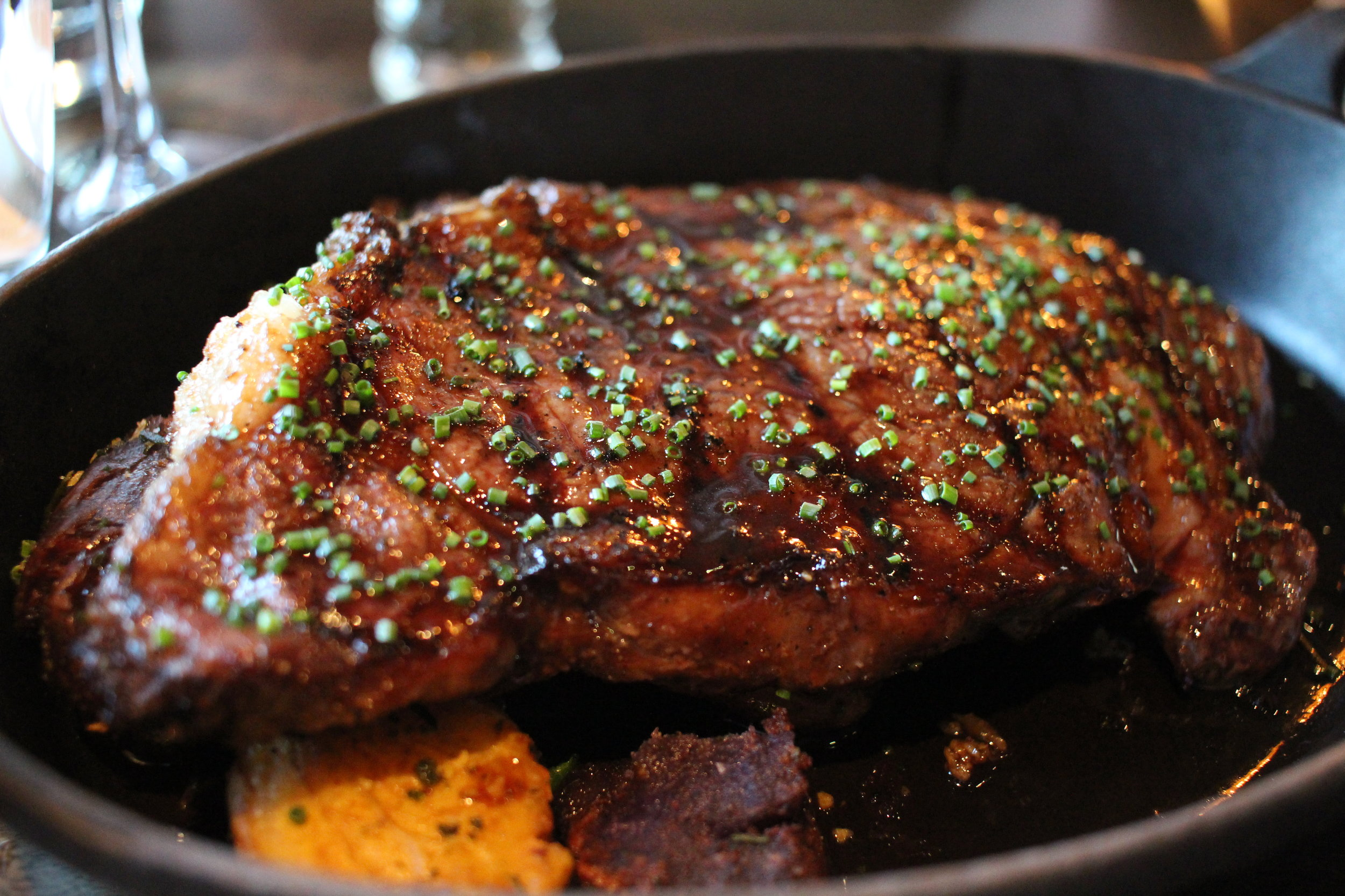 Redd Wood in Napa (Yountville) makes a fantastic steak!