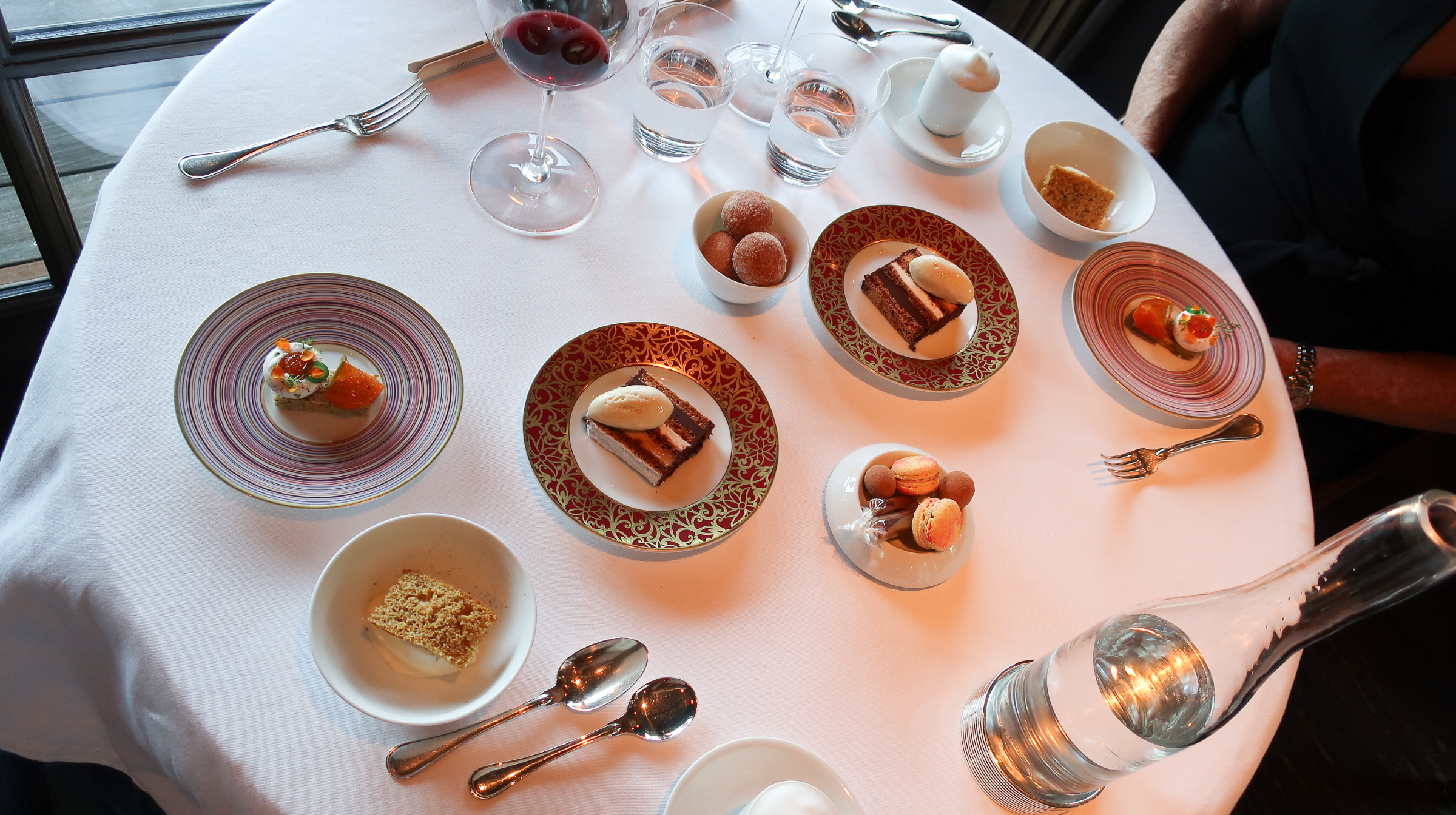 Desserts at the French Laundry